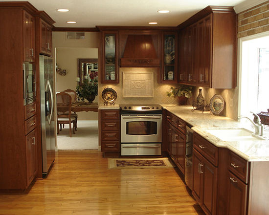 Gallery custom kitchen cabinets page 456 for Custom cabinets
