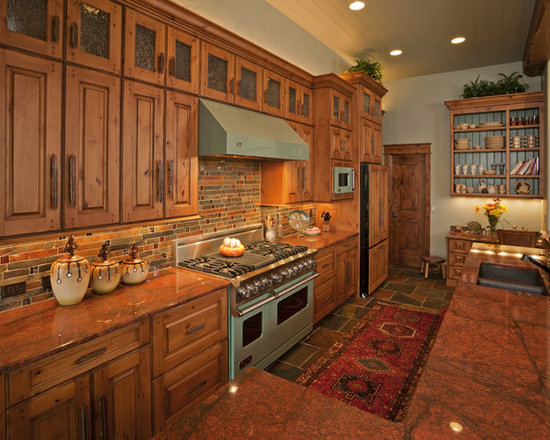 Gallery custom kitchen cabinets for Custom wood kitchen cabinets