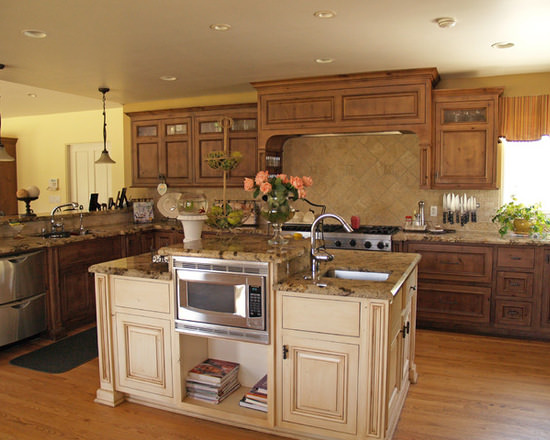 Gallery custom kitchen cabinets page 474 for Kitchen cabinets 60056