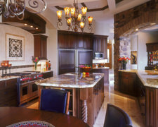 Black Walnut Kitchen and Bath - Custom Kitchen Cabinets