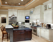 Picasso Counter Top & Cabinet - Custom Kitchen Cabinets