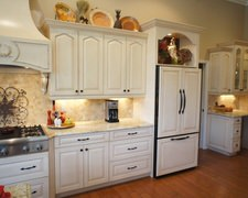 Cabinet of Curiousities - Custom Kitchen Cabinets