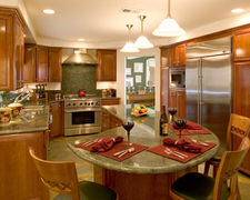 Custom Crafted Cabinets - Custom Kitchen Cabinets