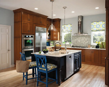 Grove Mahogany Cabinet - Custom Kitchen Cabinets