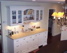 Houstons Cabinet Counter - Custom Kitchen Cabinets