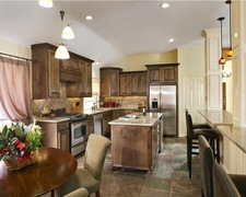 Brown Cabinet & Trim - Custom Kitchen Cabinets