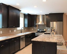 Desert Wood Cabinet - Custom Kitchen Cabinets