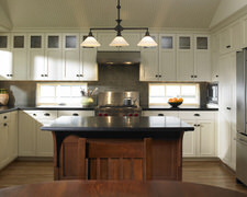 Hermitage Lighting Gallery - Custom Kitchen Cabinets
