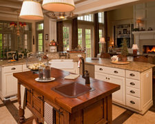 Christian Church-Latter Rain - Custom Kitchen Cabinets