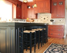 Faux Cabinetry - Custom Kitchen Cabinets