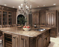 Cirlce L Cabinet - Custom Kitchen Cabinets