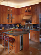Thompson Custom Cabinet Wood - Custom Kitchen Cabinets