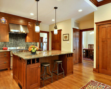 David & Helen Coolidge - Custom Kitchen Cabinets