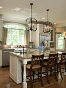 On The Wall Cabinets - Custom Kitchen Cabinets