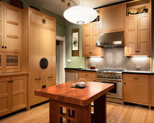 Harmony in Wood - Custom Kitchen Cabinets