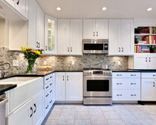 Black Coffee Kitchen Cabinets - Custom Kitchen Cabinets