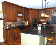 Armoires Creabec Inc, Les - Custom Kitchen Cabinets