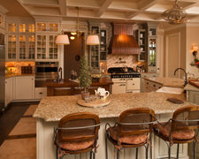 Jim Green Custom Leatherwork - Custom Kitchen Cabinets