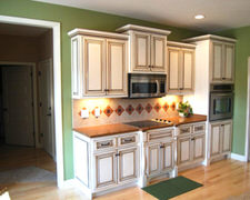 Grove Maple Cabinets - Custom Kitchen Cabinets
