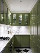 Leal's Cabinets-Glass Tinting - Custom Kitchen Cabinets